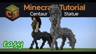 How to Build a Centaur Statue in Minecraft