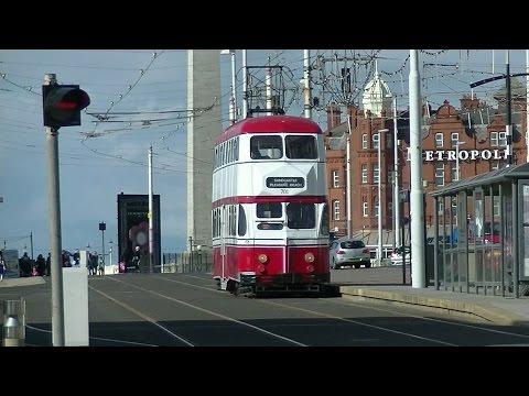 Bank Holiday Monday Blackpool Heritage Trams - 18th April 2017