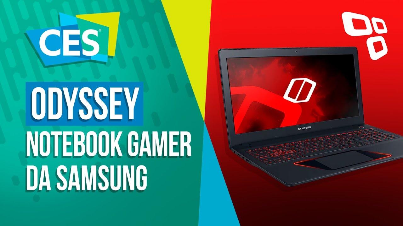 Notebook samsung brasil - Odyssey O Notebook Gamer Da Samsung Ces 2017 Tecmundo