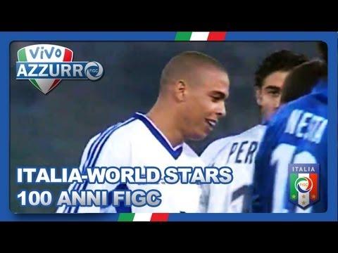 100 anni di FIGC, Italia-FIFA World Stars - Ricordi Azzurri