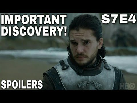 Jon Snow's Huge Discovery at Dragonstone! - Game of Thrones Season 7 Episode 4 (Spoilers!)