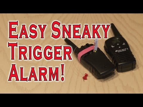 Easy Sneaky Trigger Alarm!