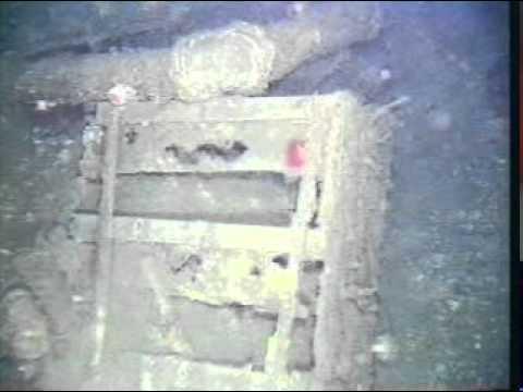USS Macon underwater