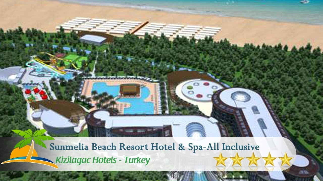 Sunmelia Beach Resort Hotel & Spa-All Inclusive - Kizilagac Hotels ...