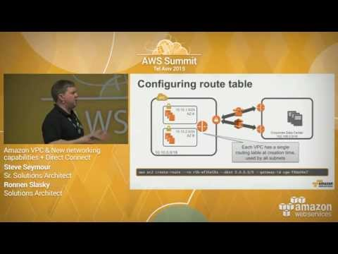 AWS Summit Series 2015 | Tel Aviv: Amazon VPC and AWS Direct Connect