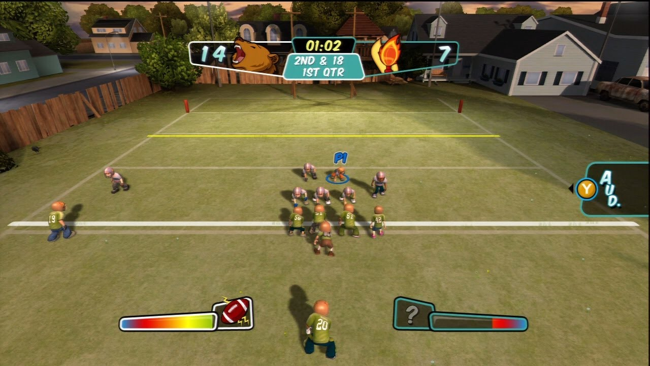 Backyard Football Video Game backyard football - prepare for battle! - youtube