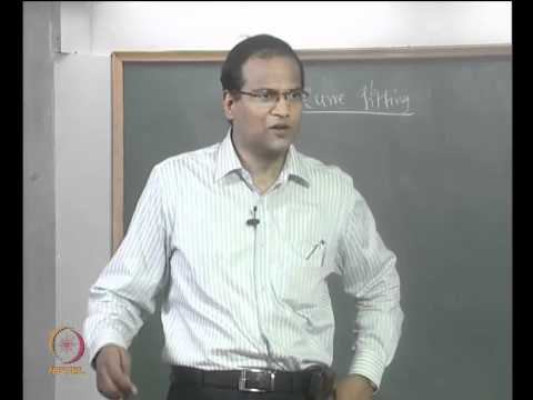 Mod-01 Lec-13 Introduction to Curve fitting