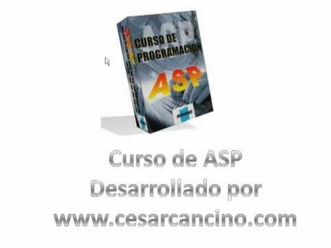 Videotutorial 5 ASP y SQL Server