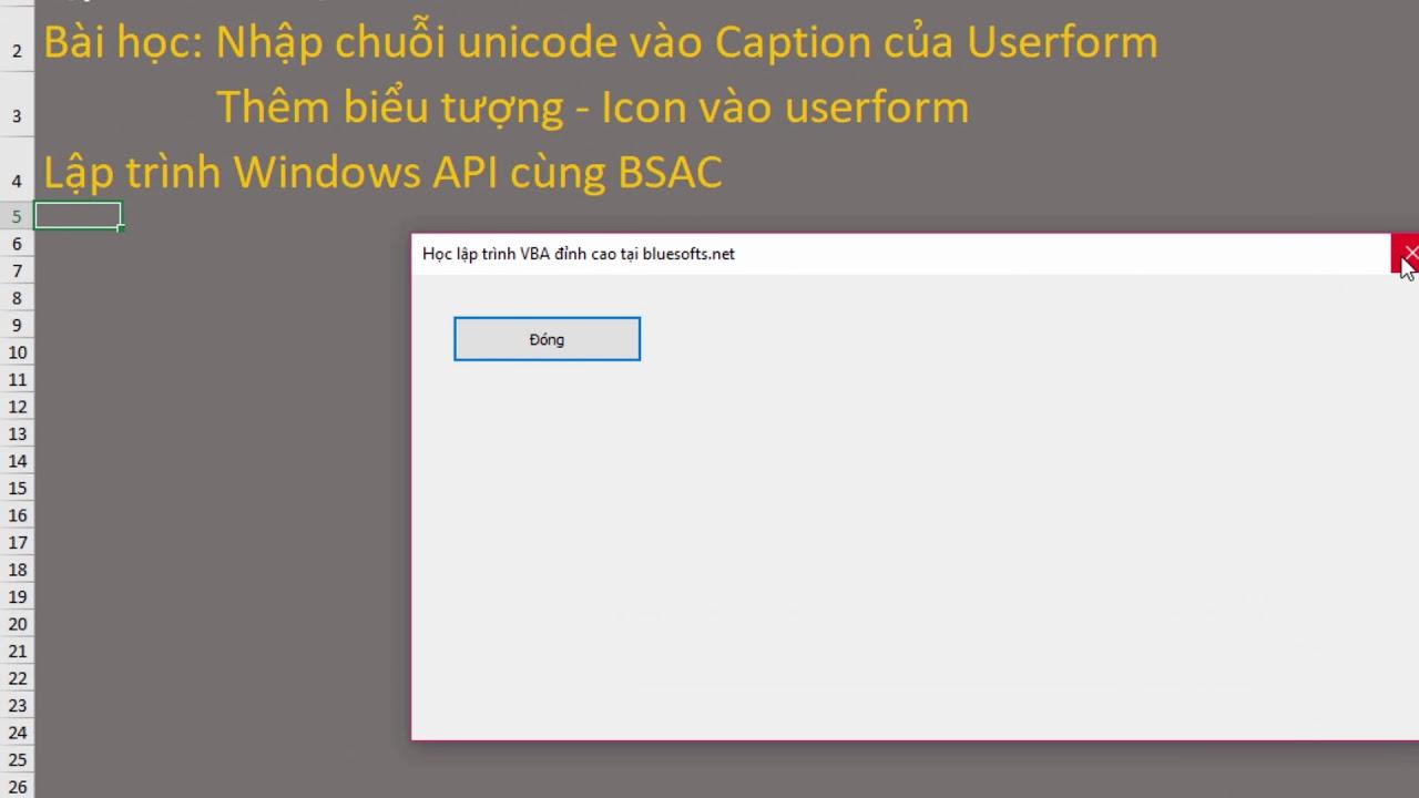 Vba Unicode