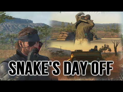 what Snake does on his day off