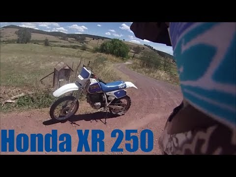 GoPro HD Hero 3 - 1994 Honda XR 250