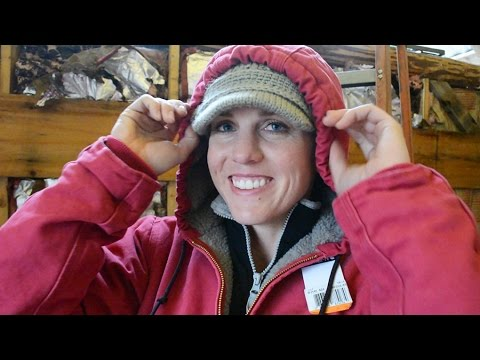 Womens Carhartt Jacket Unboxing - Warm Work Jacket