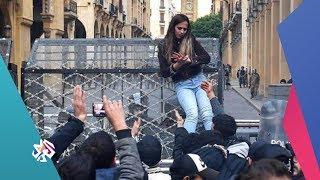 سناء الشيخ .. شابة لبنانية تشعل مواقع التواصل الاجتماعي بسبب شجاعتها│صباح النور