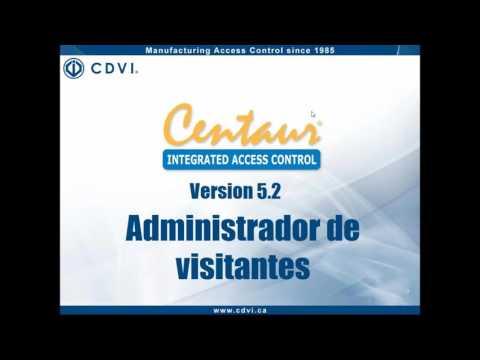 Webinar Control de Acceso Centaur de CDVI- Usuarios y control de visitantes