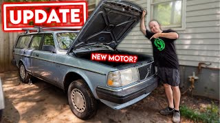 homepage tile video photo for UPDATE on the Sleeper Volvo... Good & Bad News