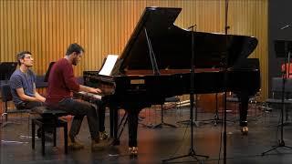 פרק 2 מתוך סונטה לפסנתר- מתן בן זהב Piano Sonata Second Movement-Matan Ben Zahav