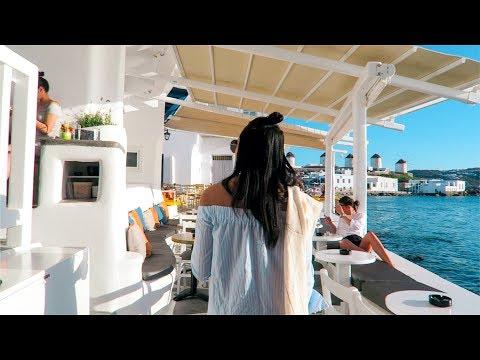 MYKONOS 2017! Exploring Little Venice (VLOG-013)