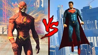 Video THE FLASH vs SUPERMAN! download MP3, 3GP, MP4, WEBM, AVI, FLV Oktober 2018