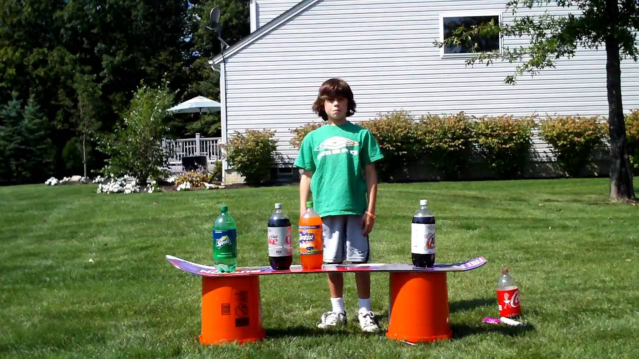coke and mentos experiment research