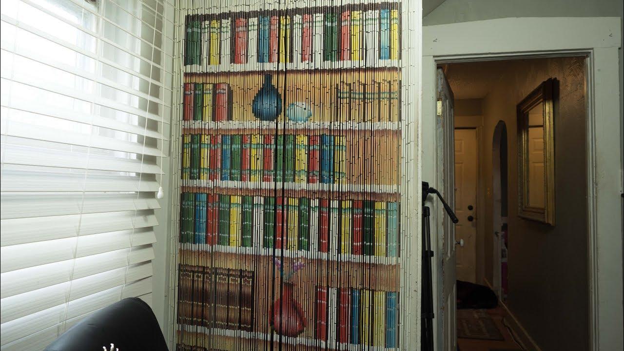 A Beaded Curtain - Cool Door Decor - YouTube on