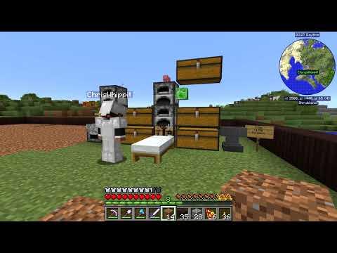 BYGGER ETT STORT HUS   Minecraft FoolCraft 3 #4