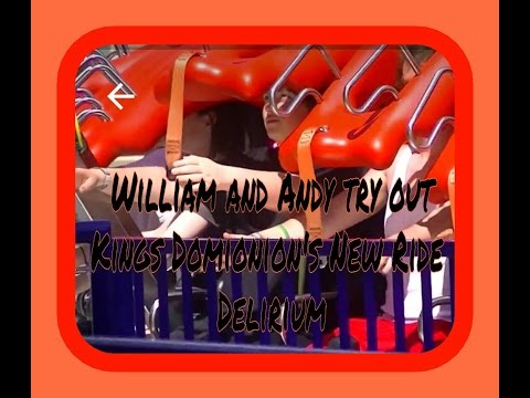 William and Andy try out Kings Domionion