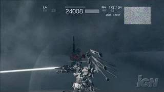 Armored Core 4 Xbox 360 Gameplay - Snow Fight (HD)