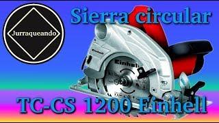 Sierra circular einhell TC-CS 1200