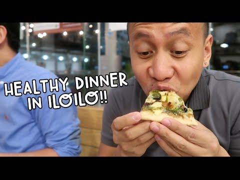 AMAZING HEALTHY FOOD - RESTAURANT IN ILOILO   Vlog #85