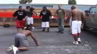 Pelea callejera afroamericanos / Street Fighter