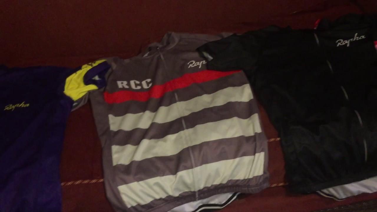 Dhgate replica Rapha cycle jerseys review - YouTube 712c45c3b