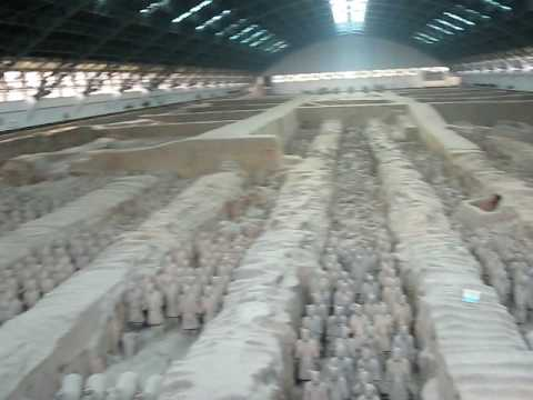 Terracotta Army inside the Qin Shi Huang Mausoleum, 3rd century BC. 照片 153