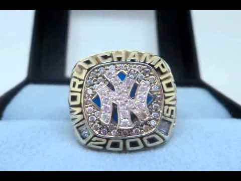 New York Yankees 2000 World Series Championship Ring.wmv - YouTube a73c48b0915f