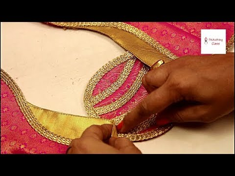 New मॉडल Blouse बैक नैक design cutting and stitching, Neck design latest ,Neck design for blouse