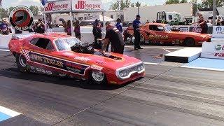 2015 IHRA Rocky Mountain Nationals Part 23: (Nostalgia Nitro Funny Car Semi Finals Eliminations)