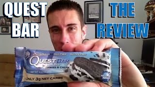 Quest Bar Review - Sugar Nightmare or Helpful Snack?