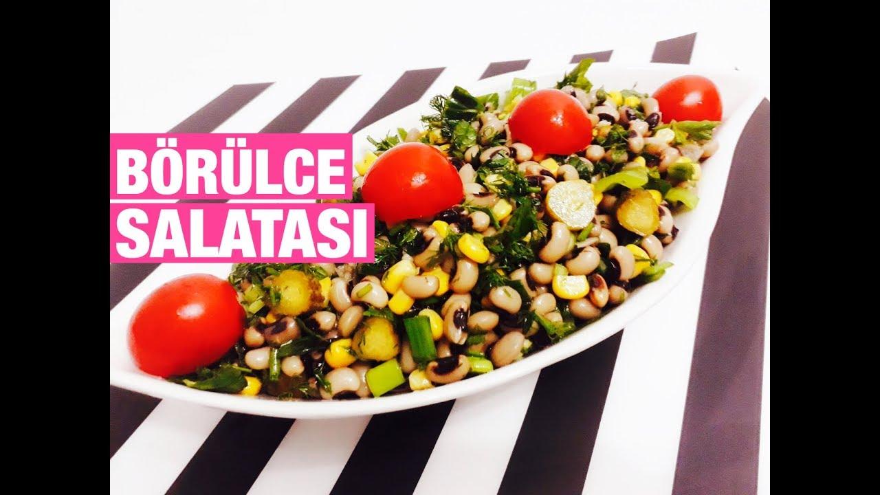 Kolay Börülce Salatası Tarifi – Salata Tarifleri