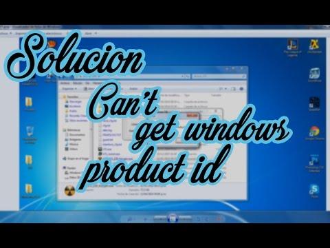 """Solución del error """"Can´t get Windows Product ID""""  LFS """