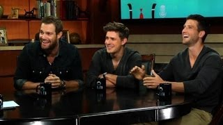 "The Cast of ""Enlisted"" on ""Larry King Now"" - Full Episode Available in the U.S. on Ora.TV"