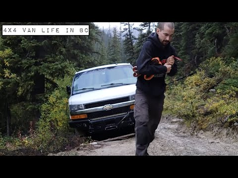 4x4 Van Life in BC - It's Getting Cold!