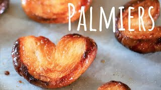 How to make Palmiers (easiest pastry ever)