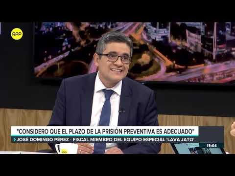 """José Domingo Pérez: Críticas a prisión preventiva """"se dan por los avances del Equipo Especial"""""""