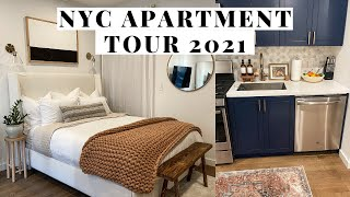 My Studio Apartment Tour | 400 Sq. ft in NYC