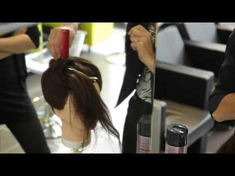Apprentissage en coiffure IMA de Villiers-le-Bel - YouTube