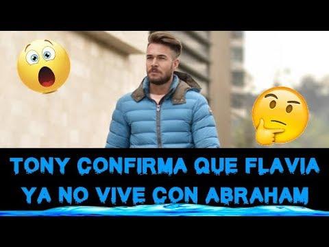 TONY SPINA AFIRMA QUE FLAVIA YA NO VIVE CON ABRAHAM YA QUE VIVE EN EL MISMO CONDOMINIO QUE ELLOS