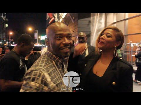 Queen Latifah, Treach (Naughty by Nature) & Missy Elliot Spotted In NYC