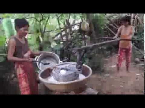 Stone-ground Rice Flour--Cambodian-style!