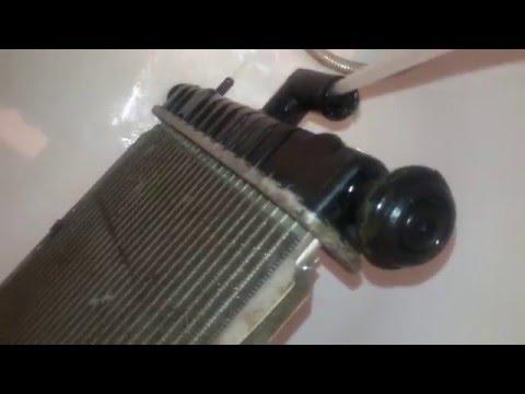 Промывка радиатора двигателя Daewoo Matiz 0.8L-1.0L замена охлаждающей жидкости