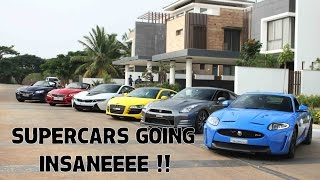 Supercars Going Crazy | SupercarsInBangalore | #71