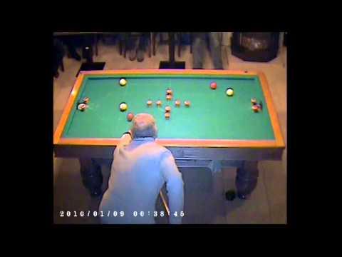 Golfbiljartspel Paul Heyerick - William Certijn